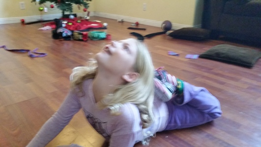 Child Yoga Pose 1