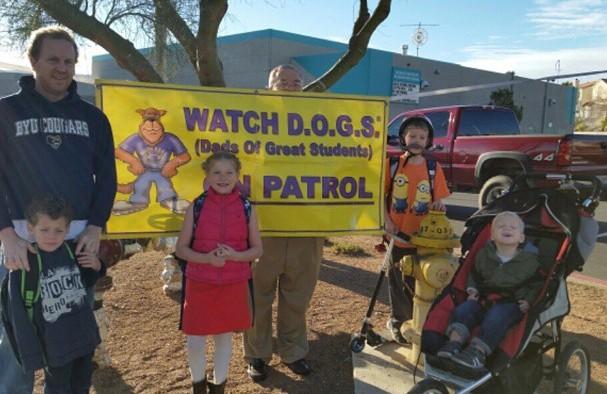 Crash Dad Visits Crash Kids School