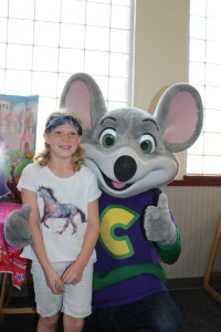 Crash Kid 2 and Chuck E Cheese