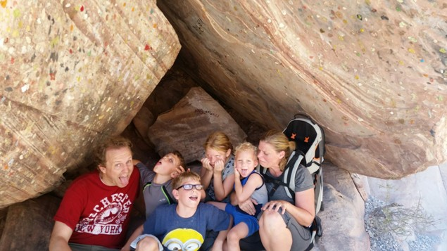 Crash Kid - Labor Day at Red Rock - Funny Faces