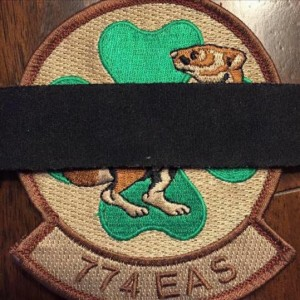 You may see this picture of the squadron patch on Facebook to honor those who lost their lives today.  To those we lost, a toast...